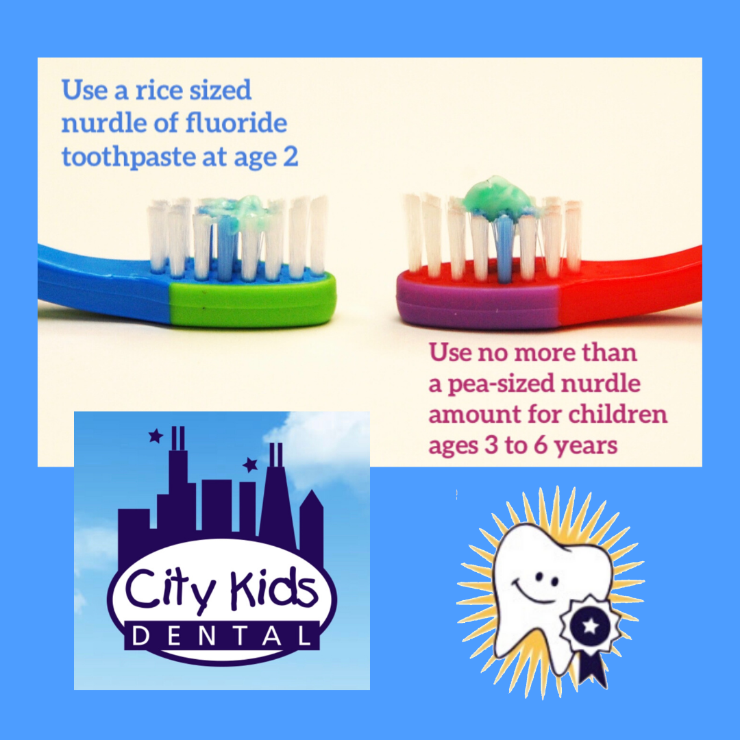 how much toothpaste should my child use